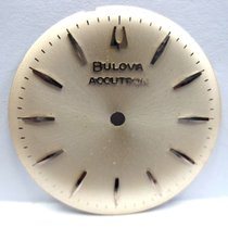 """Bulova Accutron Watch  """"Silver""""  Dial 28 mm in Size."""