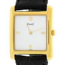 伯爵 Vintage Piaget Quartz 18K Yellow Gold White Roman 23mm...