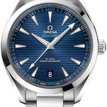 Omega Seamaster Aqua Terra Steel 41mm Blue Arabic numerals