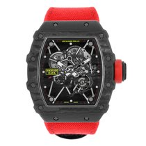 Richard Mille Rafael Nadal Signature Watch Black NTPT Carbon...