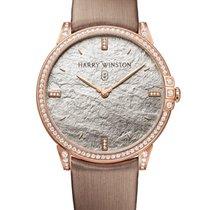 Harry Winston new Quartz Gemstones and/or diamonds 39mm Rose gold