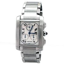 Cartier Tank Française Steel Silver Roman numerals United States of America, California, Los Angeles