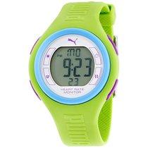 Puma Pulse Grey Dial Silicone Strap Unisex Watch Pu910541014
