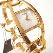 Gucci Yellow gold 27mm Quartz YA123505 new