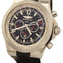 Breitling Bentley GMT Zeljezo 49mm Crn