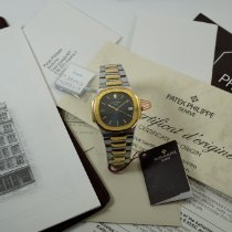 Patek Philippe 3900/1 Gold/Steel 1995 Nautilus 33mm pre-owned