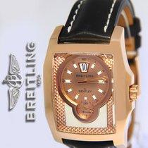 436eae8b41d Breitling Bentley Flying B 18k Rose Gold Jump Hour Mens Watch.