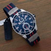 Ulysse Nardin 44mm Automatisch 2018 tweedehands Diver Chronometer Blauw
