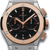 Hublot Classic Fusion Chronograph Titanium 45mm Black No numerals United States of America, New York, New York