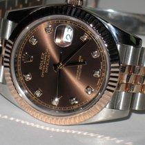 Rolex Datejust II Gold/Steel 41mm Brown No numerals United States of America, New York, Greenvale