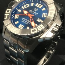 Deep Blue 46mm Automatik neu Blau