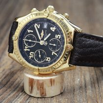 Breitling Chronomat Gelbgold 40mm Schwarz Arabisch Deutschland, Schloß Holte