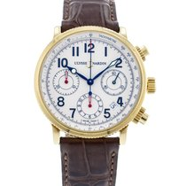 Ulysse Nardin Yellow gold Automatic White 38mm pre-owned