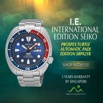 Seiko Steel 47.7mm Automatic SRPA21K1 new