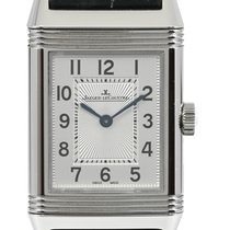 Jaeger-LeCoultre Reverso Classic Small Acero 21mm Plata Árabes