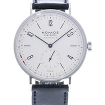 NOMOS Tangente Neomatik Steel 40.5mm White