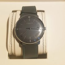 Junghans max bill MEGA Steel Grey No numerals