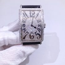 Franck Muller Steel 32mm Automatic Long Island new