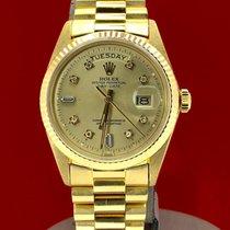 Rolex Day-Date 36 Gelbgold 36mm Gold Keine Ziffern Österreich, wien