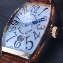 Franck Muller 7851 SC DT Rose gold Cintrée Curvex 48.7mm pre-owned