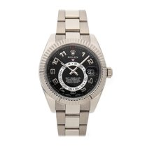 Rolex Sky-Dweller White gold 42mm Black Arabic numerals