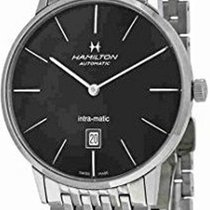 Hamilton Intra-Matic Steel 42mm Black No numerals United States of America, California, Los Angeles