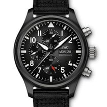 IWC Pilot Chronograph Top Gun Ceramic 44.5mm Black United States of America, Iowa, Des Moines