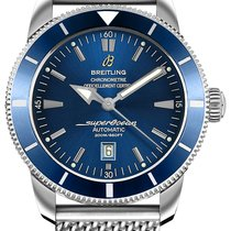 Breitling Superocean Héritage 46 Steel 46mm Blue No numerals United States of America, New Jersey, Edgewater