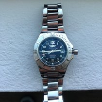 Breitling Colt GMT+ Steel 41mm Black Arabic numerals