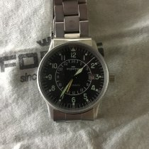 Fortis Steel 40mm Automatic 596.10.148 pre-owned