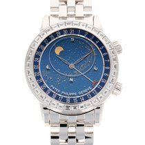 Patek Philippe Celestial new 2019 Automatic Watch with original box and original papers 6104/1G-001