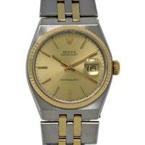 Rolex Datejust Oysterquartz 17013 Bra Stål 36mm Kvarts