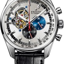 Zenith El Primero Chronomaster Steel Silver United States of America, New York, Brooklyn