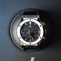 Hublot Classic Fusion Chronograph Titanium 45mm Zwart Geen cijfers