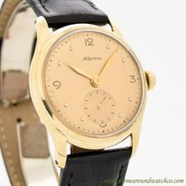 Alpina Yellow gold 32mm Manual winding 4/10 pre-owned United States of America, California, Beverly Hills
