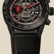 TAG Heuer Carrera 01 Automatic Chronograph Skeleton 45mm...