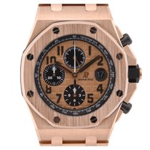 Audemars Piguet Royal Oak Offshore Rose Gold Chronograph 42mm ...