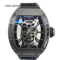 Richard Mille RM052 Skull Tourbillon in Sandblast Titanium...