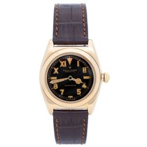 Rolex Vintage Rolex Yellow Gold Oyster Perpetual Bubbleback...