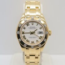 Rolex Lady-Datejust Pearlmaster Yellow Gold (No Papers)