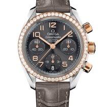 Omega 324.28.38.40.06.001 Or/Acier 2020 Speedmaster Ladies Chronograph 38mm nouveau