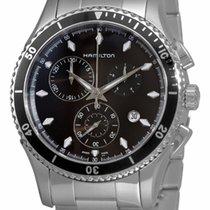 Hamilton Jazzmaster Seaview new 2019 Quartz Chronograph Watch with original box and original papers H37512131
