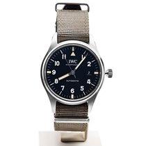 IWC Pilot Mark новые 2018 Автоподзавод Часы с оригинальными документами и коробкой IWC iw327007 Pilot's Watch Mark XVIII Limited Edition