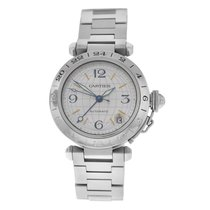 Cartier Pasha C Steel 35mm Silver Arabic numerals United States of America, New York, New York
