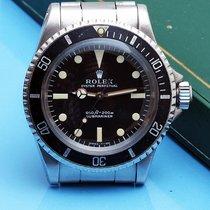 Rolex vintage Submariner  serif dial 5513 full set