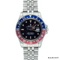 Rolex GMT-Master 16750 PEPSI Faded Bezel Patina Full Set B&P