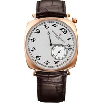 Vacheron Constantin Historiques Rose gold 40mm Silver Arabic numerals United States of America, New York, New York