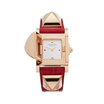 Hermès Rose gold 23mm Quartz W041283WW00 pre-owned