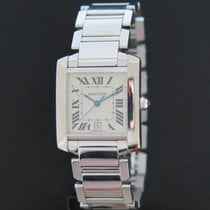 Cartier Tank Française tweedehands 33mm Witgoud