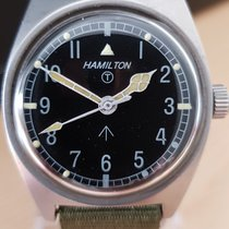 Hamilton Steel 35mm Manual winding pre-owned Finland, Helsinki